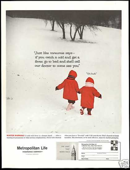 Metropolitan Life Insurance Call Your Doctor (1960)