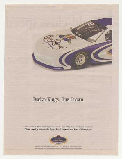 Crown Royal Whisky IROC Race Car (2004)