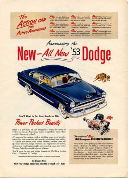 Dodge Coronet Red Ram V8 (1953)
