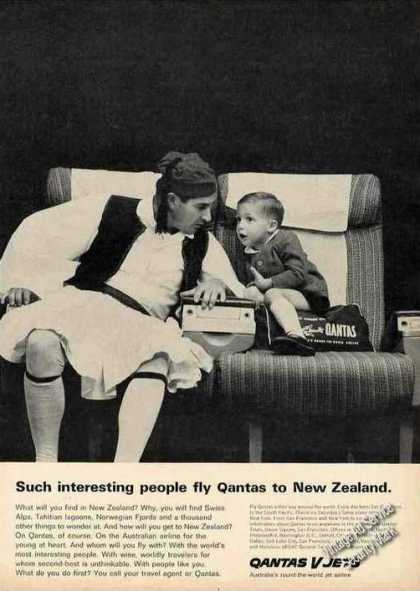 "Qantas To New Zealand ""Such Interesting People"" (1964)"