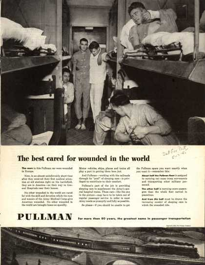 Pullman Company – The Best Cared for Wounded in the World (1945)