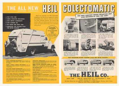 Heil Colectomatic Garbage Truck (1954)