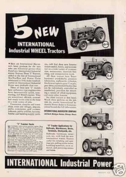 International Industrial Tractors (1941)