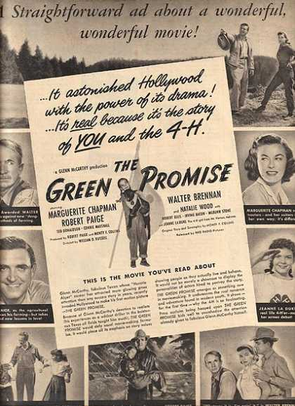 The Green Promise (Walter Brennan, Marguerite Chapman and Natalie Wood) (1949)