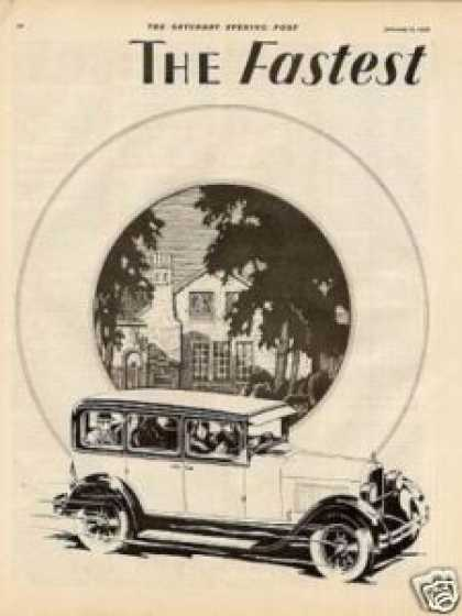 Dodge Brothers Car Ad 2 Page (1928)