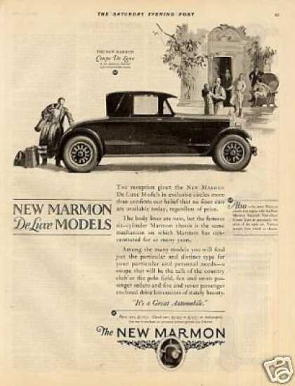 Marmon Coupe Deluxe Car (1925)