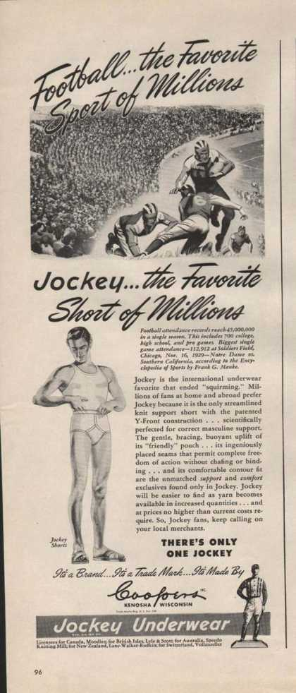 Jockey Mens Underware (1946)