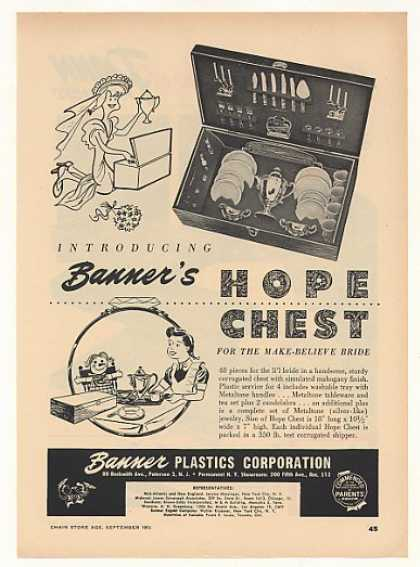 Banner Plastics Hope Chest Toy (1953)