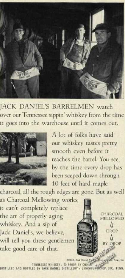 Jack Daniel's Barrelmen Photo (1962)