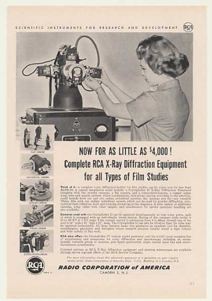 '59 RCA Crystalloflex II X-Ray Diffraction Equipment (1959)
