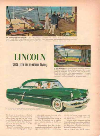 Lincoln Capri Car – Green (1951)