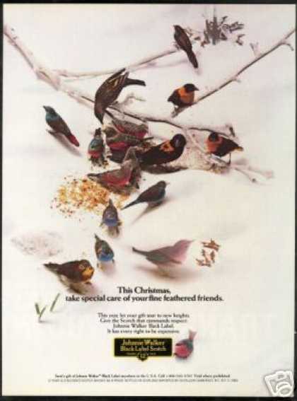 Johnnie Walker BL Scotch Birds Friends (1985)