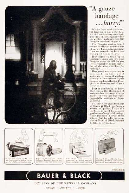 Bauer & Black Bandages (1930)