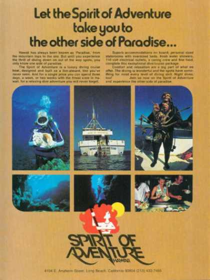 Spirit of Adventure Hawaii Dive School T (1978)