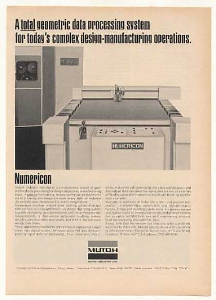 Mutoh Numericon Data Processing System (1970)