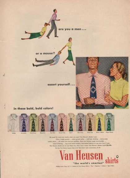 Van Heusen Mens Dress Shirts (1949)