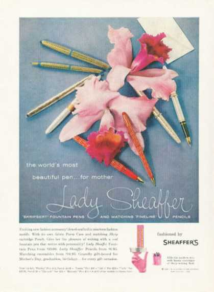 Sheaffer's Lady Pen Pencil (1959)