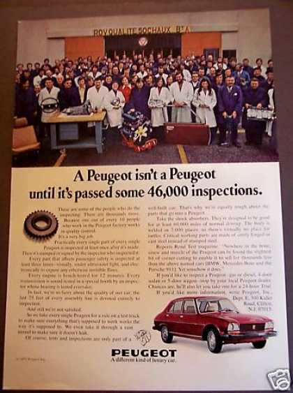 Peugeot a Different Kind of Luxury Car (1975)