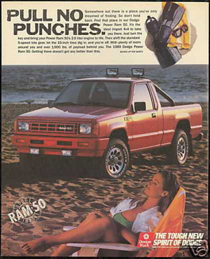 Dodge Power Ram 50 Truck Pickup Photo (1989)