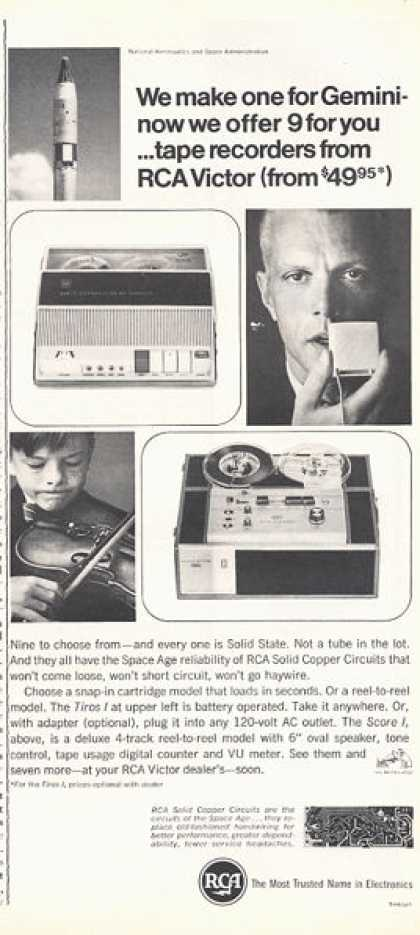 Rca Reel To Reel Tape Solid State (1966)