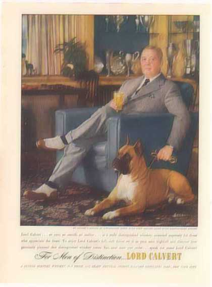 Lord Calvert – Mr. Kettles Paper Magnate & Champion Boxer Owner (1948)