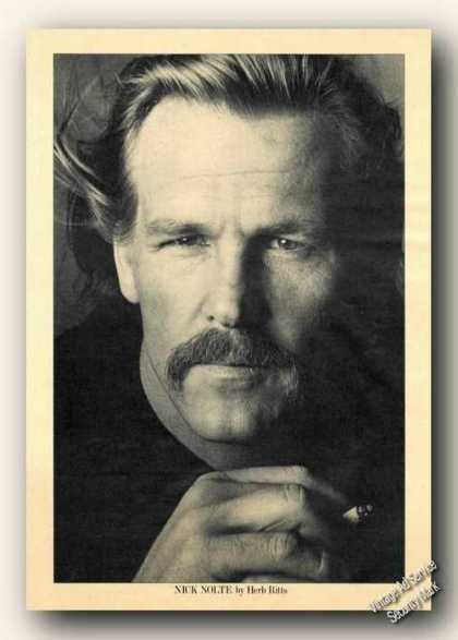Nick Nolte Picture Print Feature (1983)