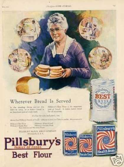 Pillsbury Flour Color (1921)