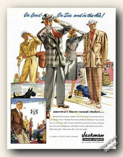 Jackman Casual Clothes Nice Period Art Color (1947)