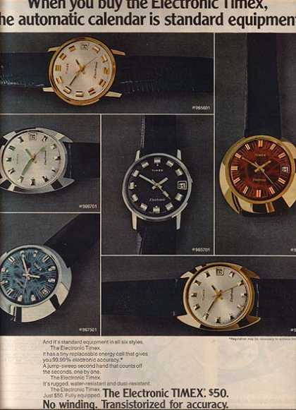 Timex's Electronic Watches (1971)