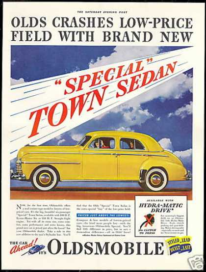Oldsmobile Special Town Car Photo Vintage (1941)