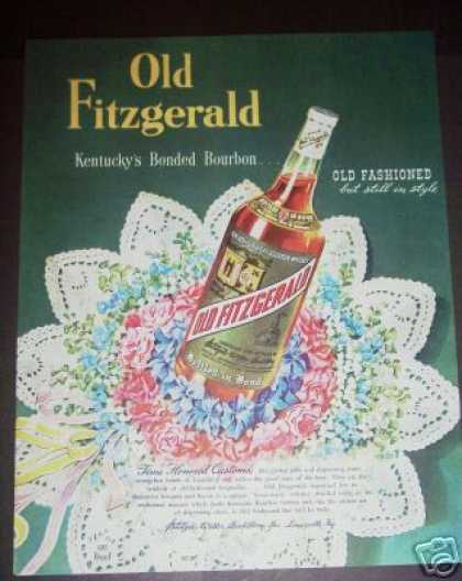 Old Fitzgerald Kentucky Bourbon (1947)