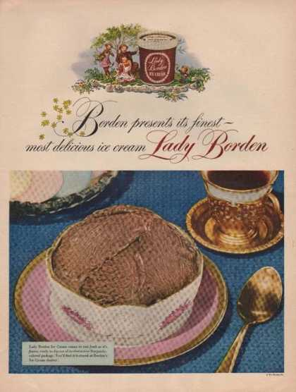 Borden Presents Lady Borden Ice Cream (1949)