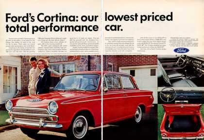 Ford Cortina Photo (1966)