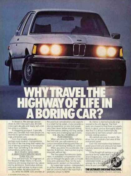 Bmw 320i Photo Why Travel In Boring Car (1979)
