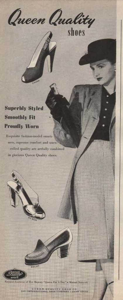 Queen Quality Womens Dress Shoes (1946)