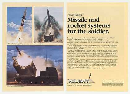 Vought T-22 Lance Missiles MLRS Rocket Photo 2P (1980)