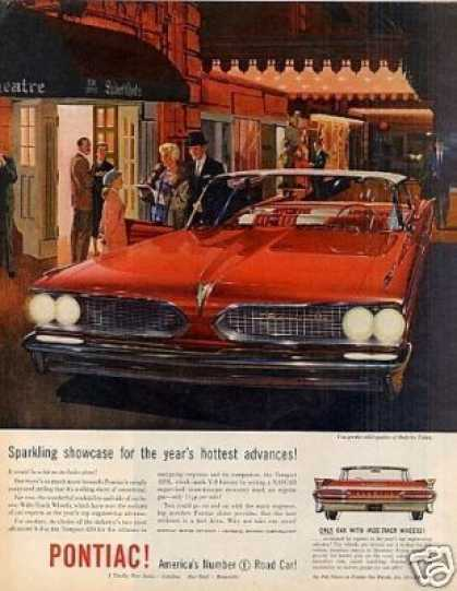 "Pontiac Car Ad ""Sparkling Showcase... (1959)"