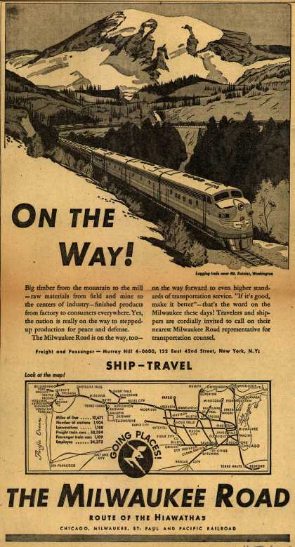 Milwaukee Road – On The Way (1951)
