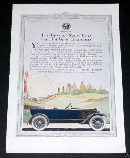 Hot Spot Chalmers Motor Cars (1919)