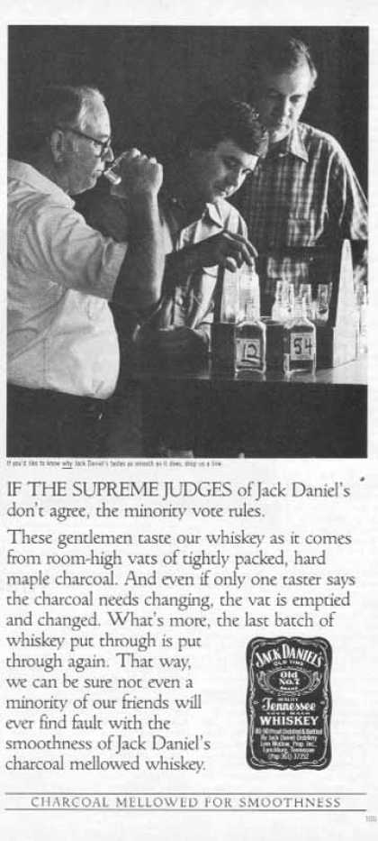 Jack Daniel's – The Supreme Judges (1986)