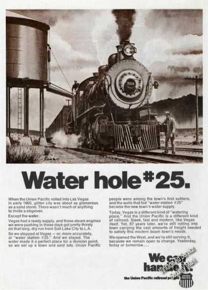 Water Hole #25 Rare Union Pacific Railroad (1973)