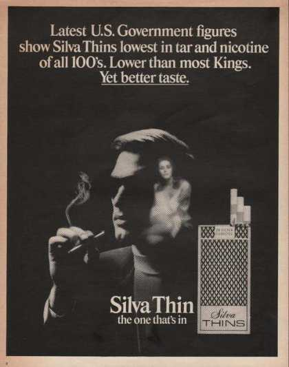 Silva Thin the One Thats In Cigarette (1969)
