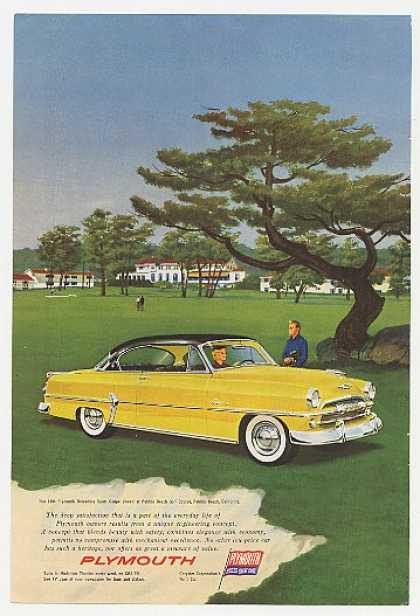 Plymouth Belvedere Sport Coupe Pebble Beach (1954)