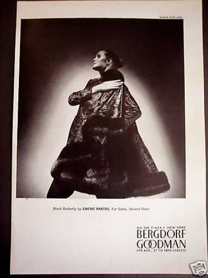 Emeric Partos Fur Coat Bergdorf Goodman (1969)