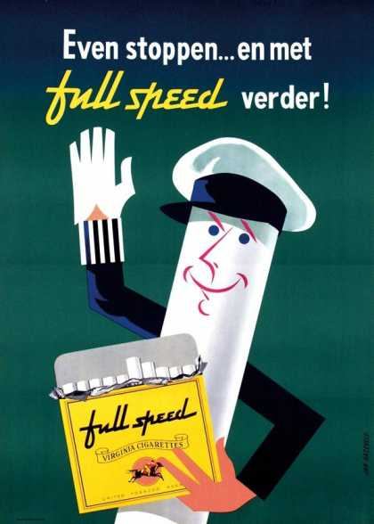 Full Speed – Jan Hazeveld – Holanda (1955)