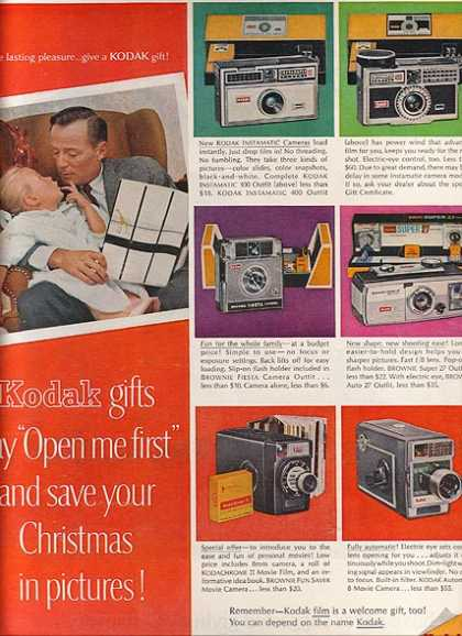 Kodak's Christmas gifts in 1963 (1963)