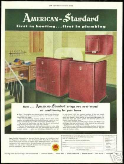 American Standard Home Air Conditioner Cleaner (1951)