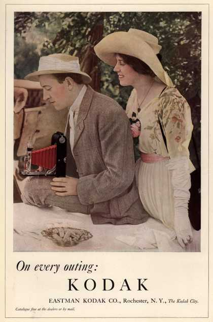 Kodak – On every outing: Kodak (1912)