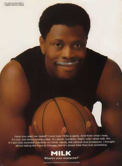 Patrick Ewing &#8211; Got Milk? (1996)