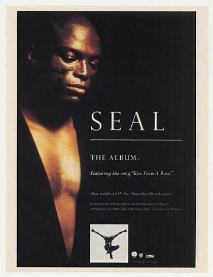 Seal The Album Sire Records Photo (1995)